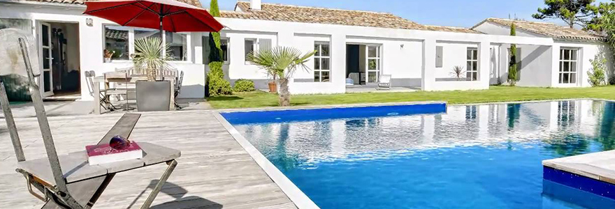 a villa rental in Ile de Re